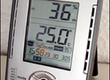 Funk-Thermo-Hygrometer TA120  mit Datenloggerfunktion